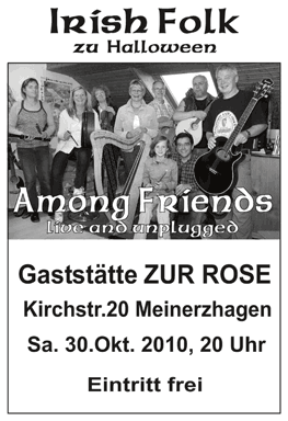 Among Friends – live and unplugged